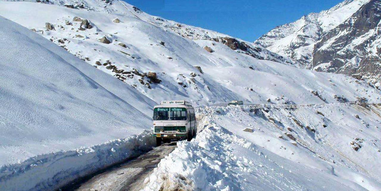 Bus Journey to Leh